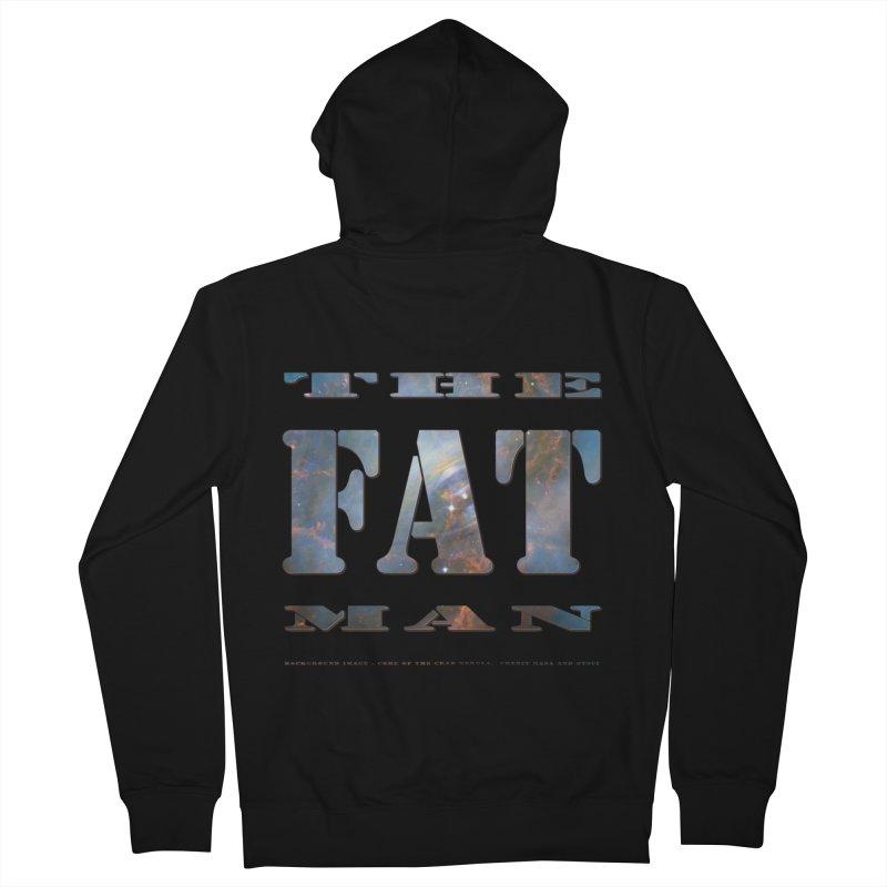 The Fat Man Women's Zip-Up Hoody by Unhuman Design