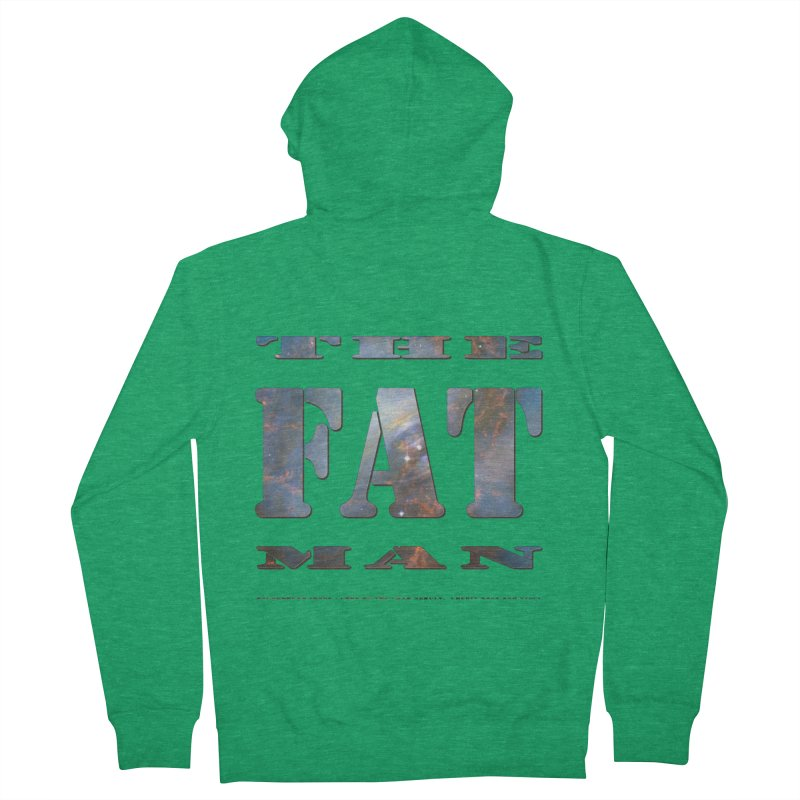 The Fat Man Men's Zip-Up Hoody by Unhuman Design