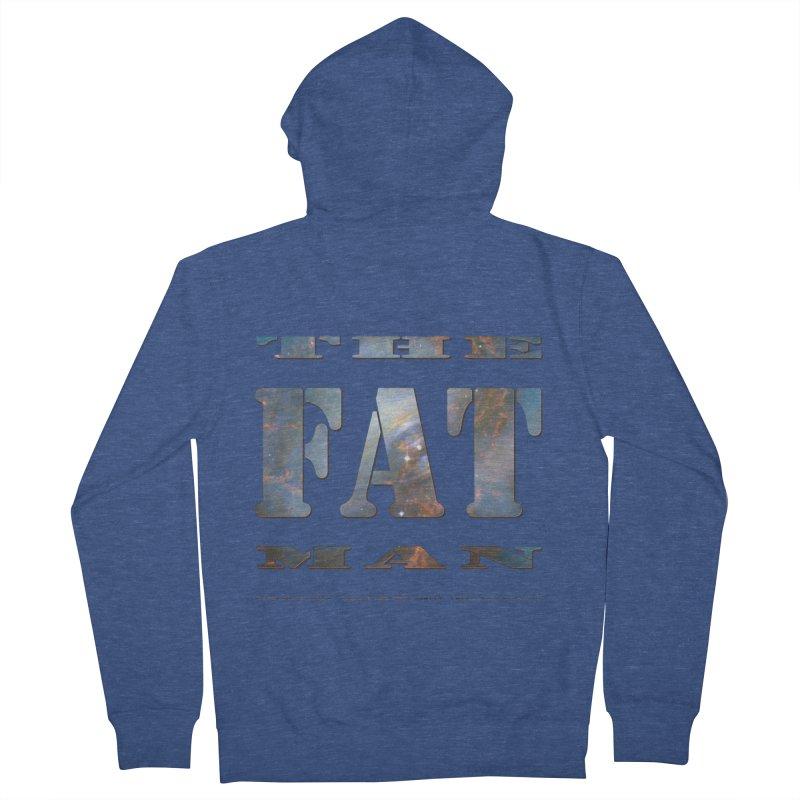 The Fat Man Men's Zip-Up Hoody by Unhuman Design