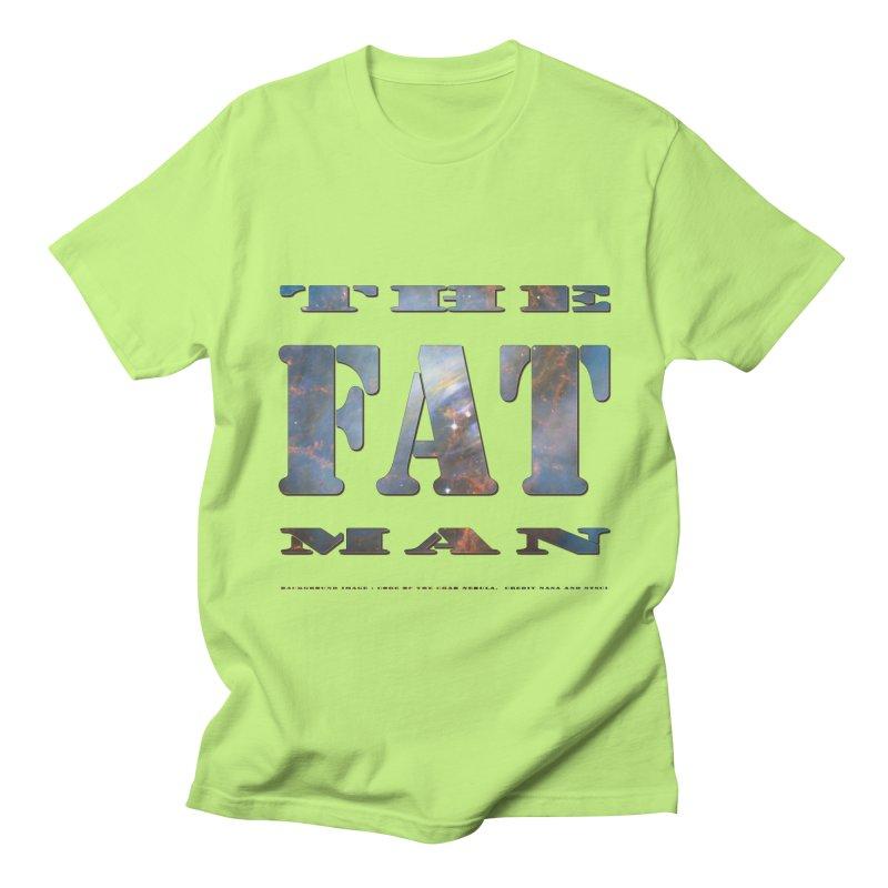 The Fat Man Men's T-Shirt by Unhuman Design