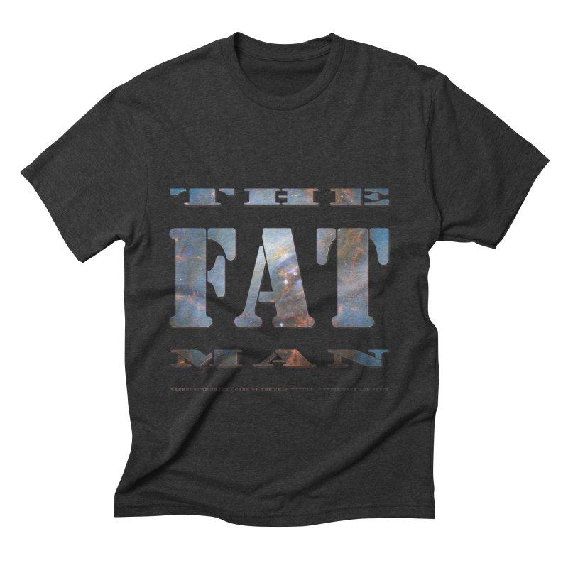 The Fat Man Men's Triblend T-shirt by Unhuman Design