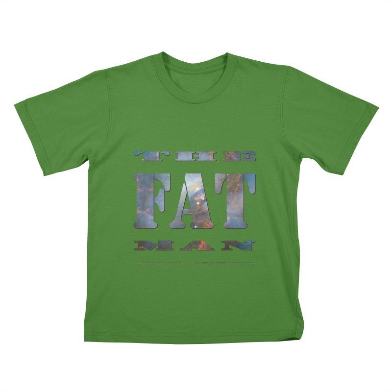 The Fat Man Kids T-shirt by Unhuman Design