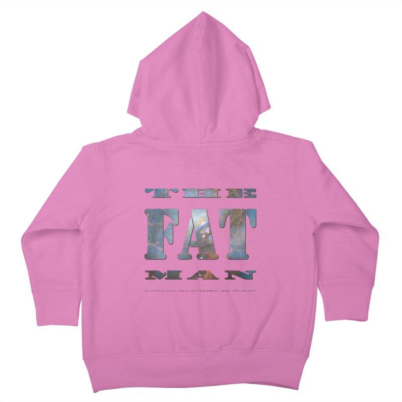 The Fat Man Kids Toddler Zip-Up Hoody by Unhuman Design