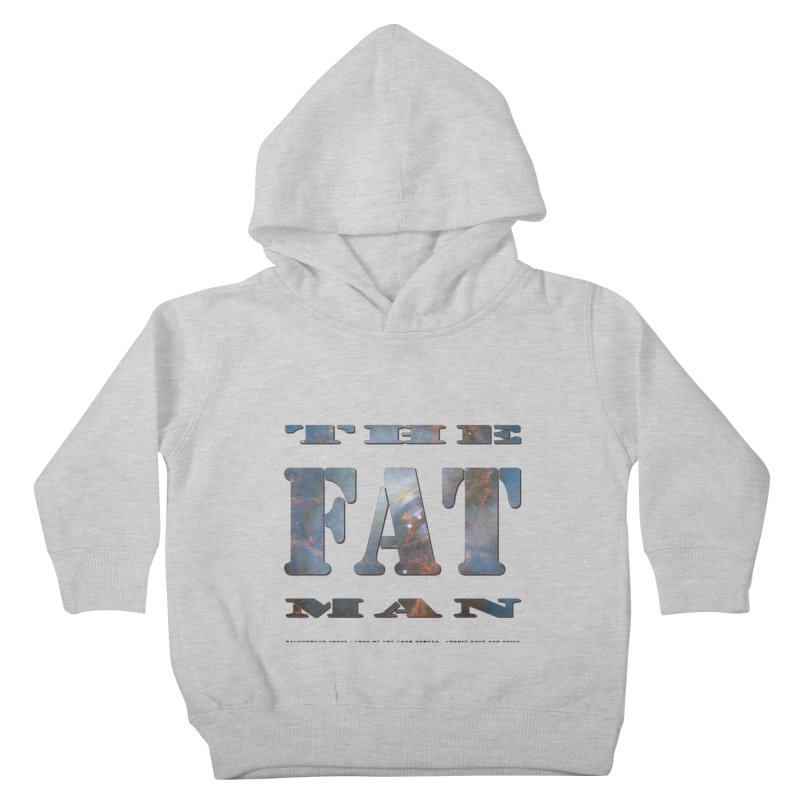 The Fat Man Kids Toddler Pullover Hoody by Unhuman Design