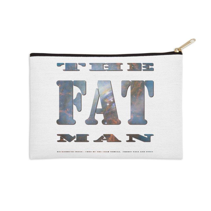 The Fat Man Accessories Zip Pouch by Unhuman Design