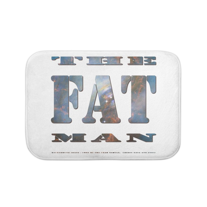 The Fat Man Home Bath Mat by Unhuman Design