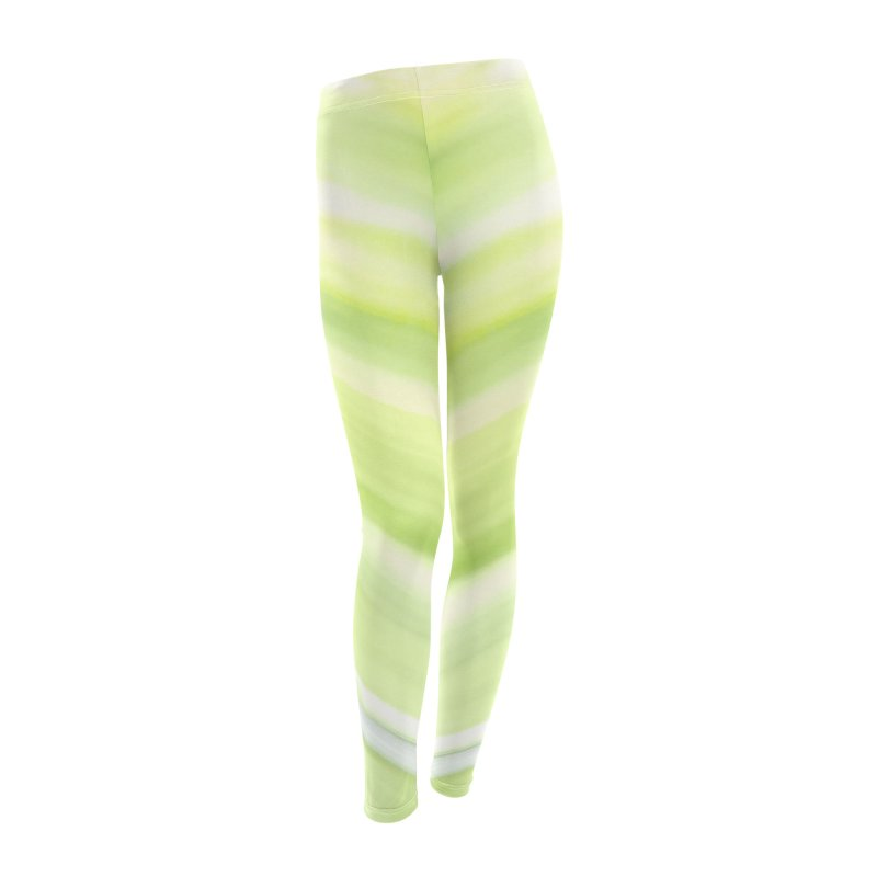 Bright Green Smudge Women's Bottoms by Unhuman Design