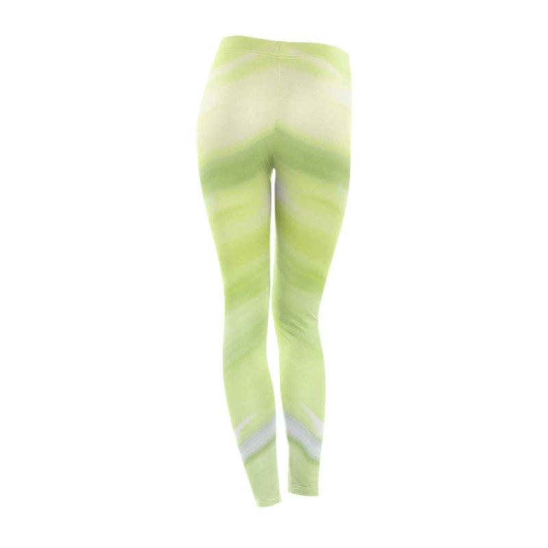Bright Green Smudge Women's Bottoms by Unhuman Design