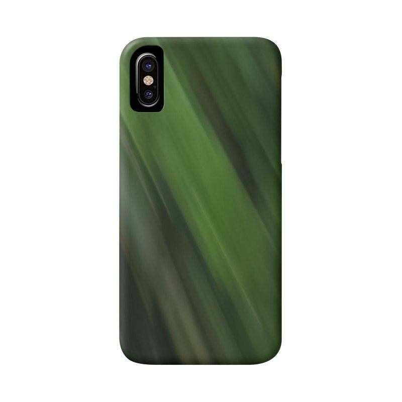 Dark Green Smudge Accessories Phone Case by Unhuman Design