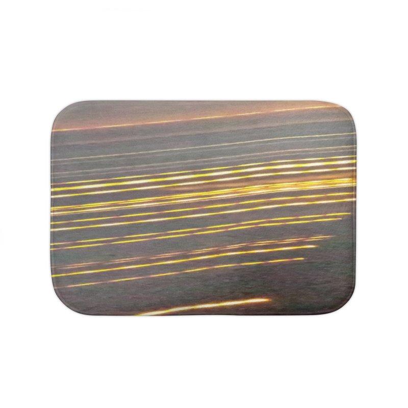 Gold Threads Home Bath Mat by Unhuman Design