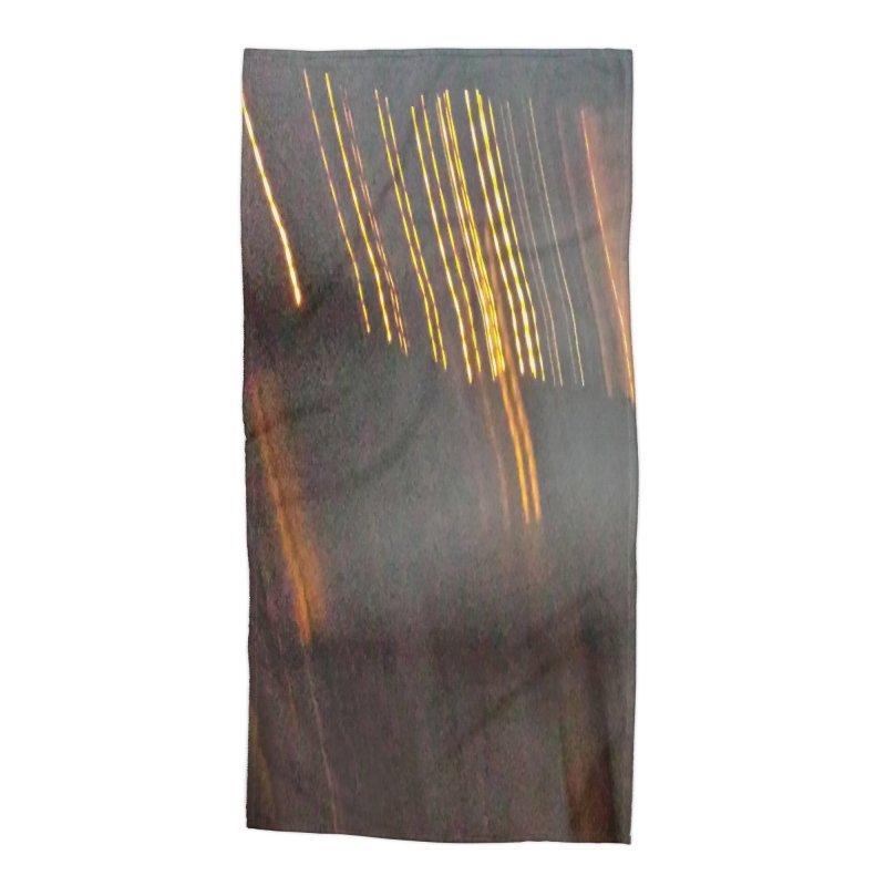 Gold Threads Accessories Beach Towel by Unhuman Design