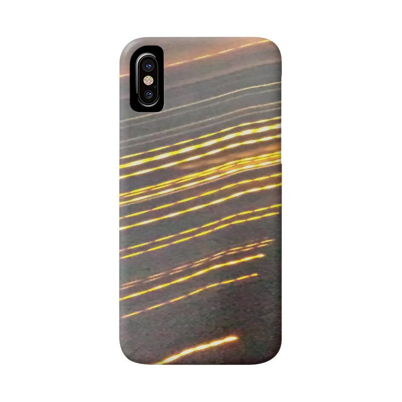 Gold Threads Accessories Phone Case by Unhuman Design