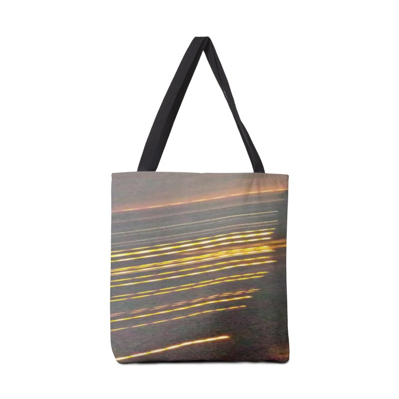 Gold Threads Accessories Bag by Unhuman Design