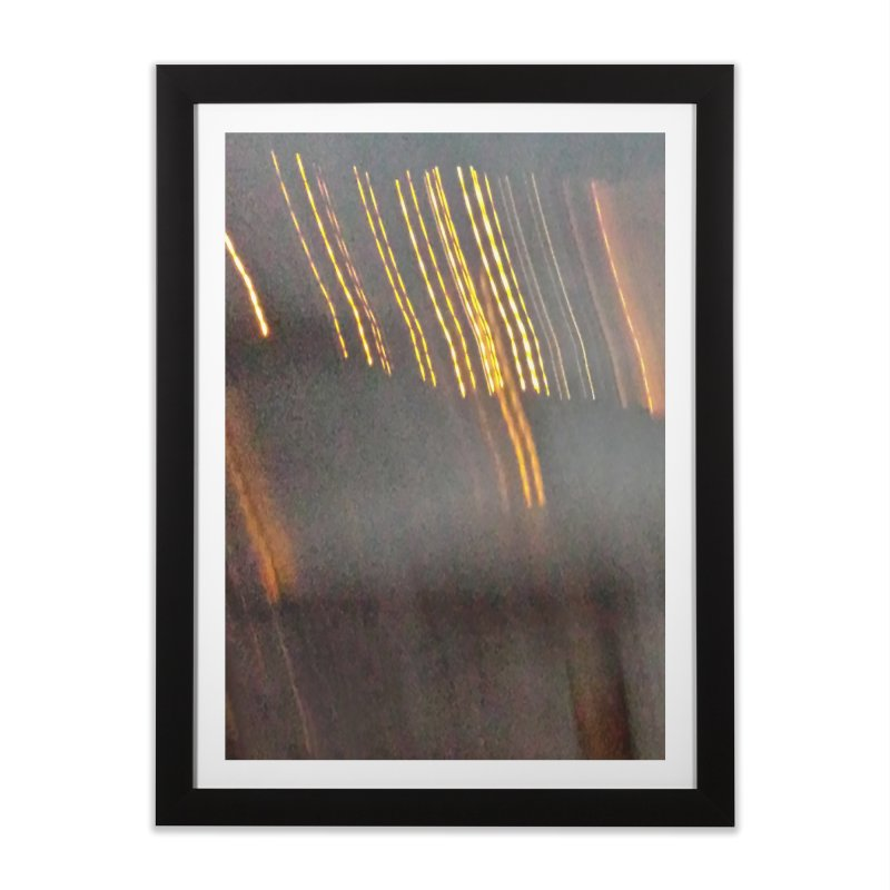Gold Threads Home Framed Fine Art Print by Unhuman Design