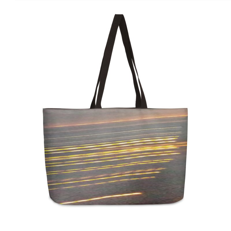 Gold Threads Accessories Weekender Bag Bag by Unhuman Design
