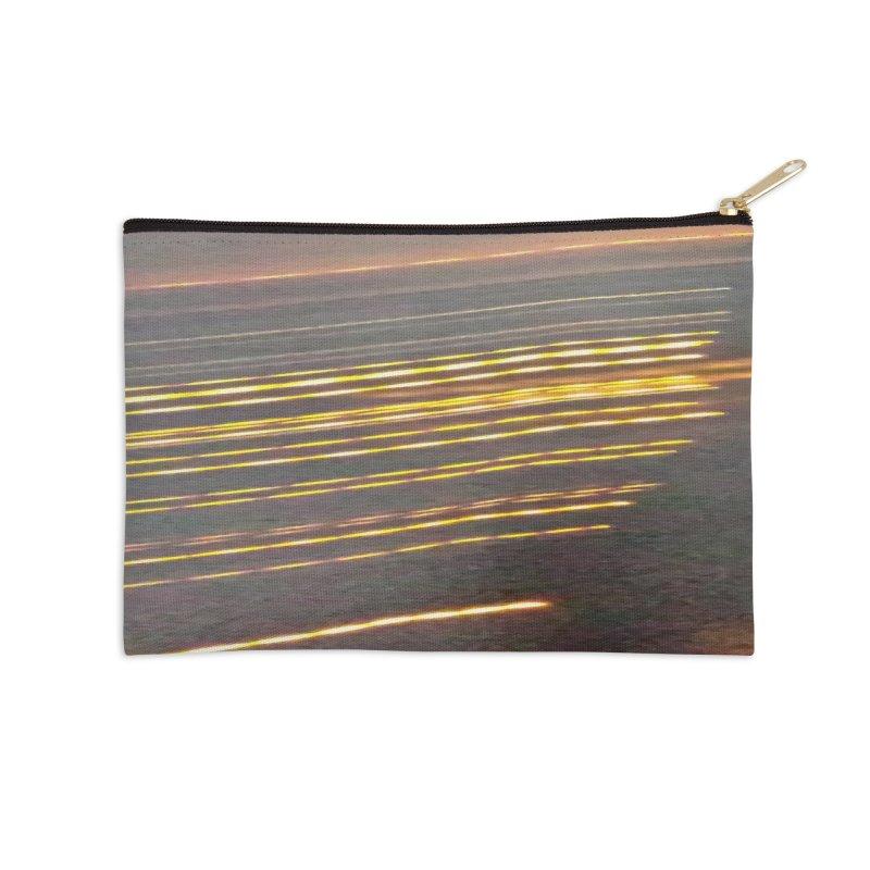 Gold Threads Accessories Zip Pouch by Unhuman Design
