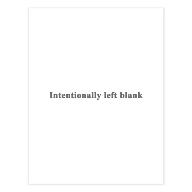 Intentionally left blank Home Fine Art Print by Unhuman Design