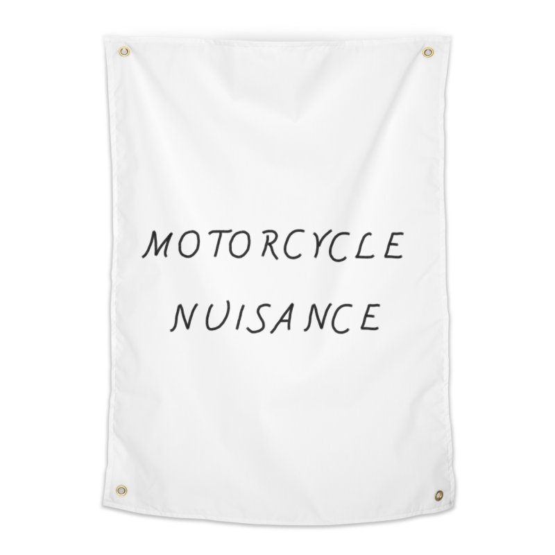 Motorcycle Nuisance Home Tapestry by Unhuman Design