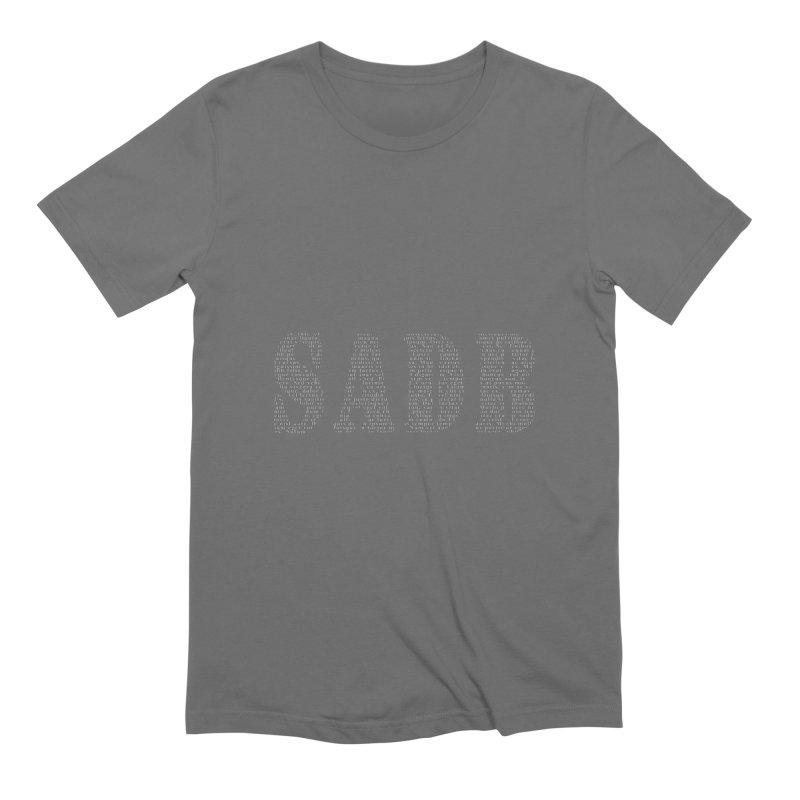 SADB Men's Extra Soft T-Shirt by Unhuman Design