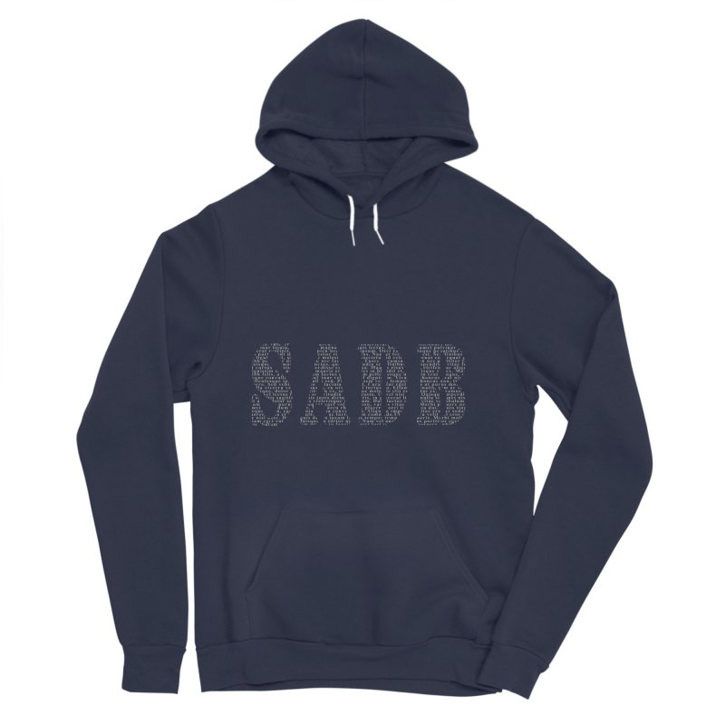 SADB Men's Sponge Fleece Pullover Hoody by Unhuman Design