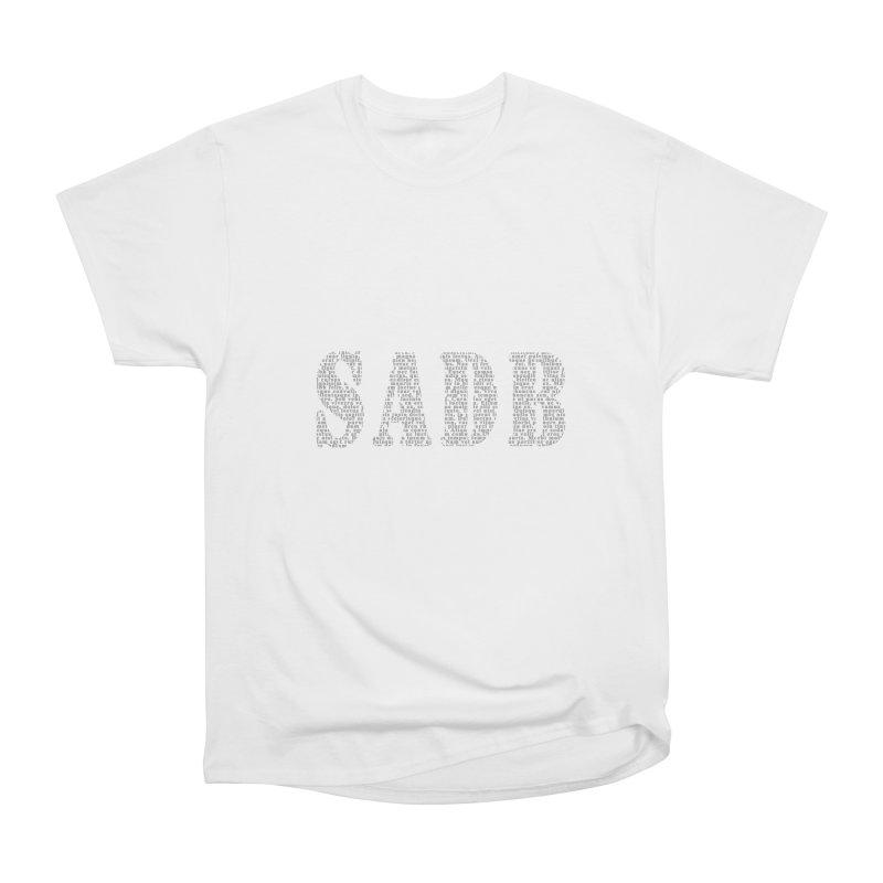 SADB Men's Heavyweight T-Shirt by Unhuman Design