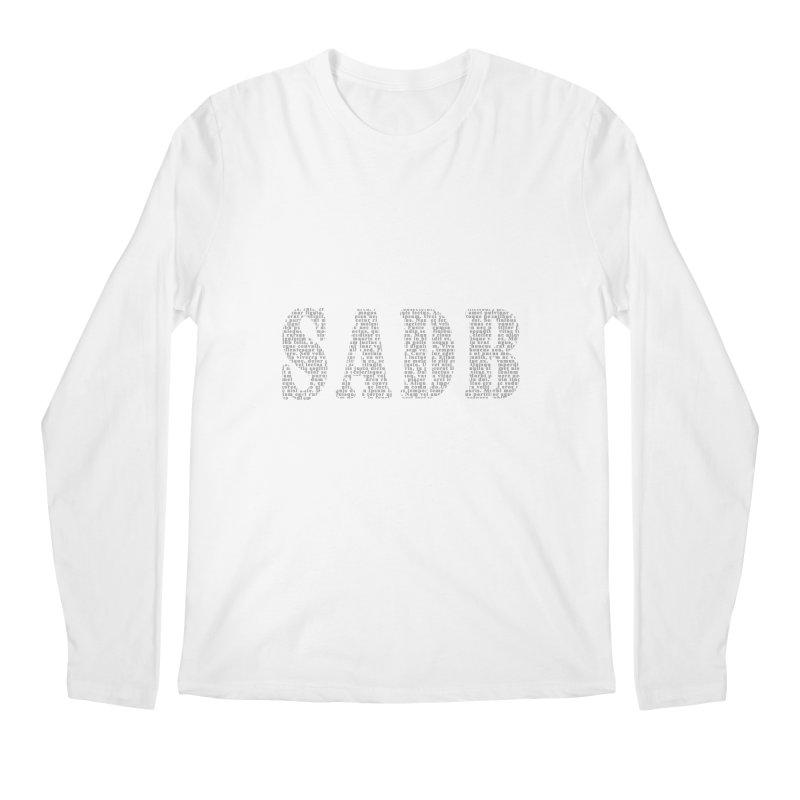 SADB Men's Regular Longsleeve T-Shirt by Unhuman Design