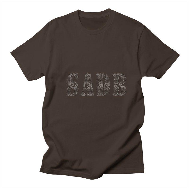 SADB Men's Regular T-Shirt by Unhuman Design