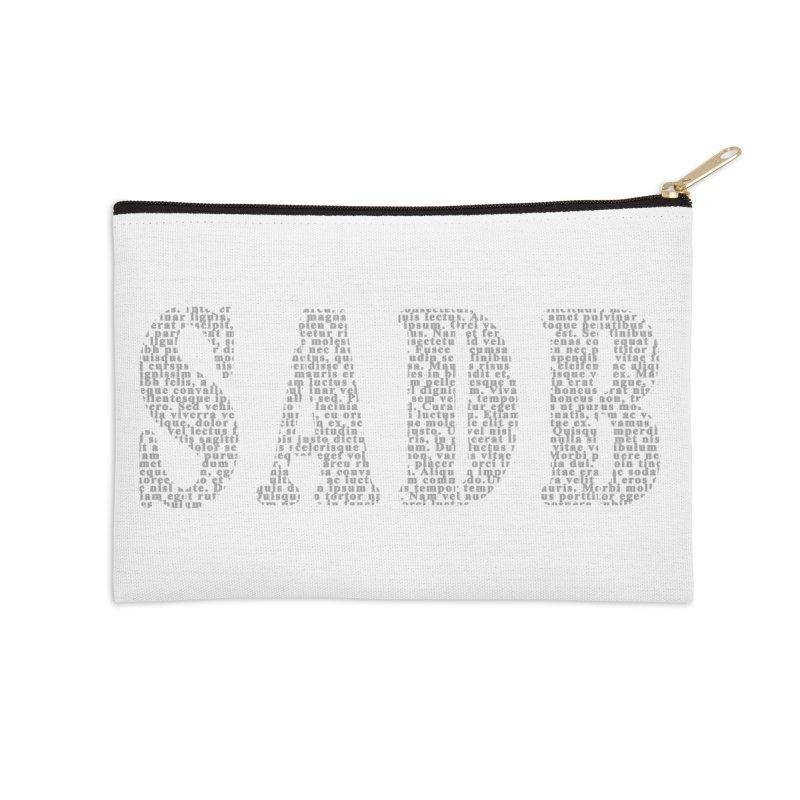 SADB Accessories Zip Pouch by Unhuman Design