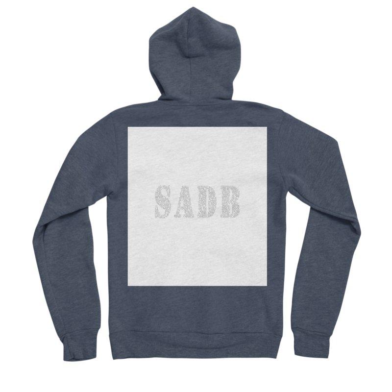 SADB Men's Sponge Fleece Zip-Up Hoody by Unhuman Design