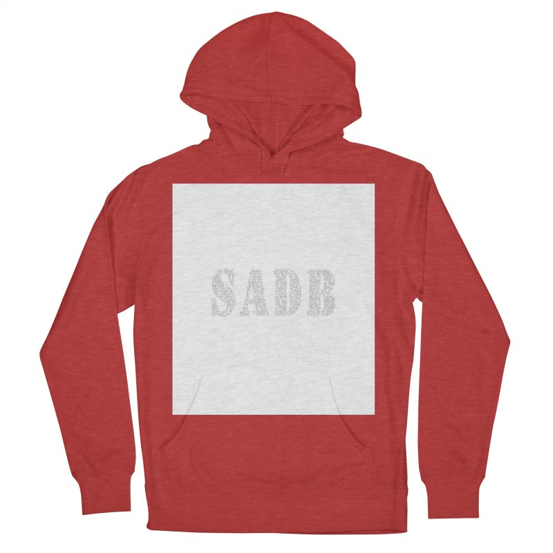 SADB Men's French Terry Pullover Hoody by Unhuman Design