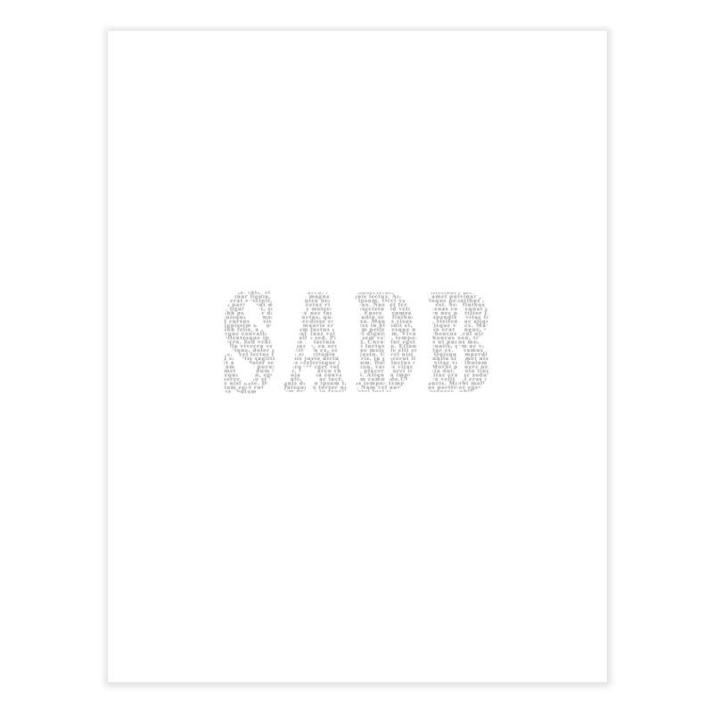 SADB Home Fine Art Print by Unhuman Design