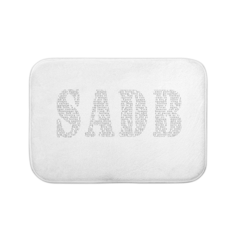 SADB Home Bath Mat by Unhuman Design