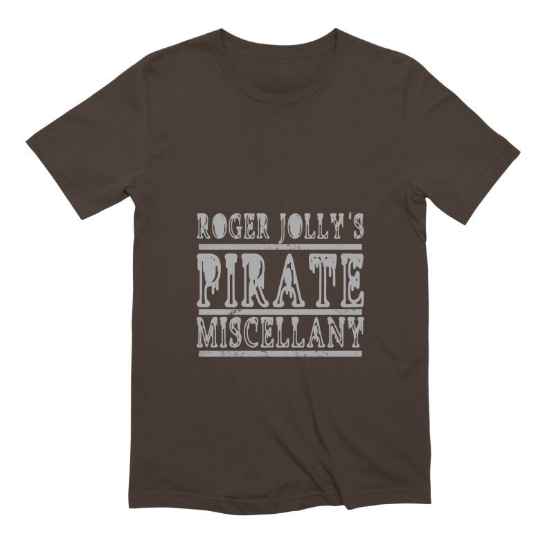 Roger Jolly's Pirate Miscellany Men's Extra Soft T-Shirt by Unhuman Design