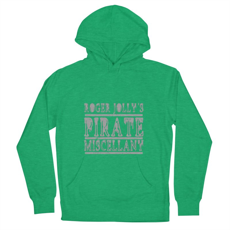 Roger Jolly's Pirate Miscellany Men's French Terry Pullover Hoody by Unhuman Design