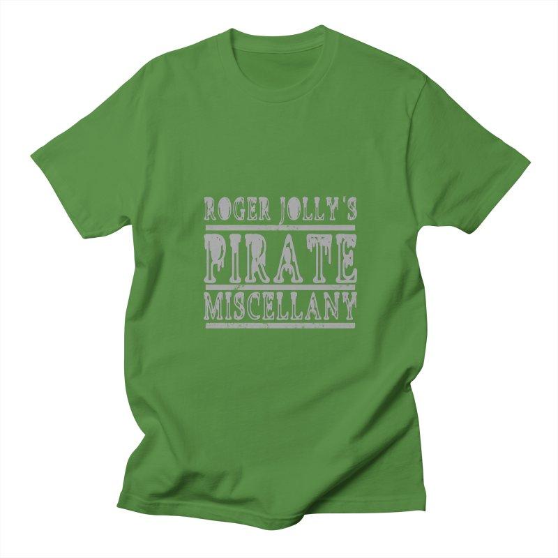 Roger Jolly's Pirate Miscellany Men's Regular T-Shirt by Unhuman Design