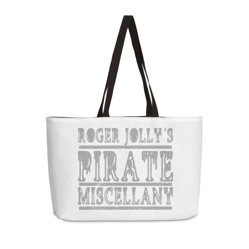 Roger Jolly's Pirate Miscellany Accessories Weekender Bag Bag by Unhuman Design