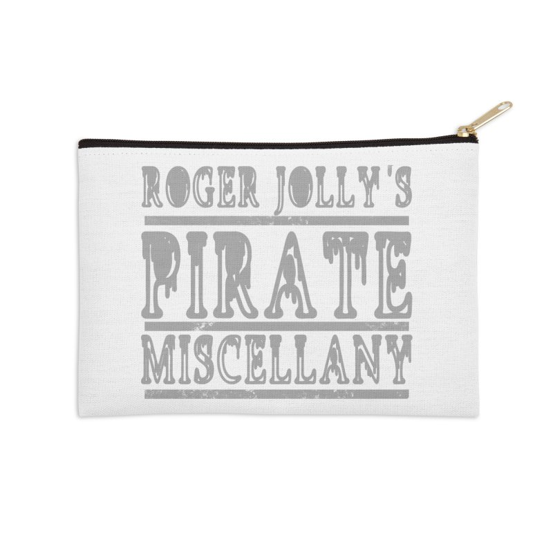 Roger Jolly's Pirate Miscellany Accessories Zip Pouch by Unhuman Design