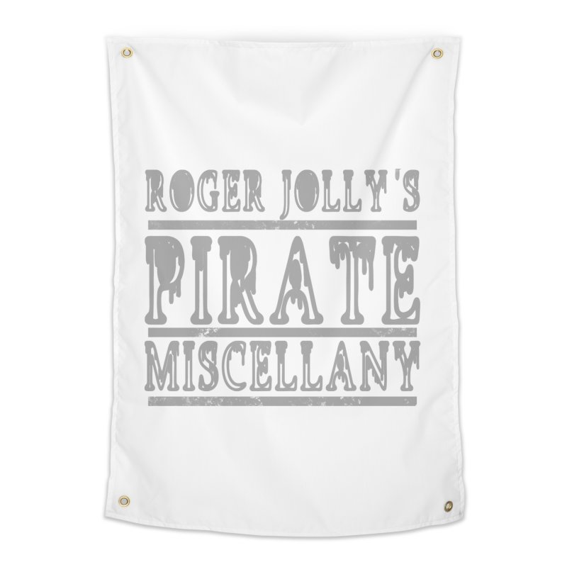 Roger Jolly's Pirate Miscellany Home Tapestry by Unhuman Design