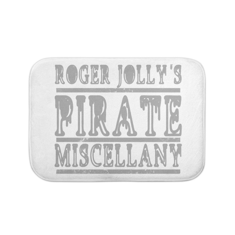 Roger Jolly's Pirate Miscellany Home Bath Mat by Unhuman Design