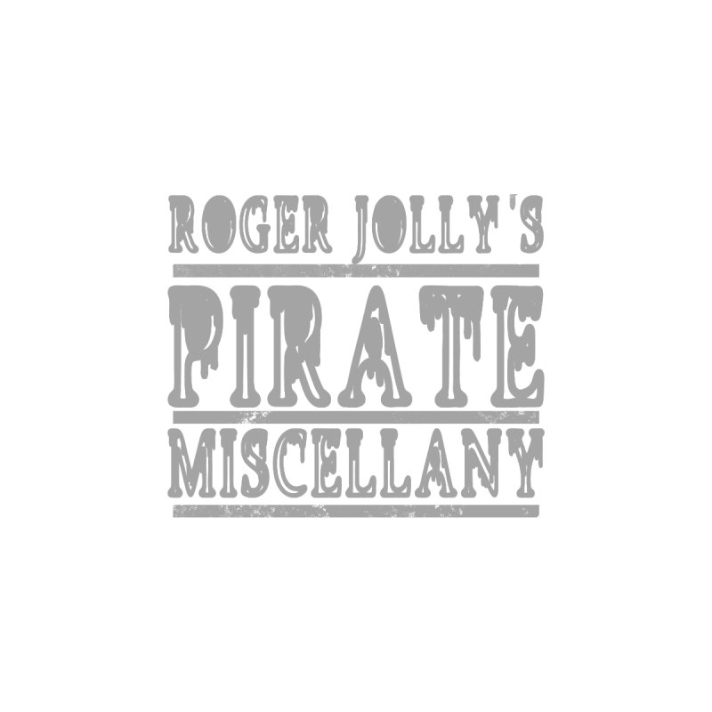 Roger Jolly's Pirate Miscellany Kids Pullover Hoody by Unhuman Design