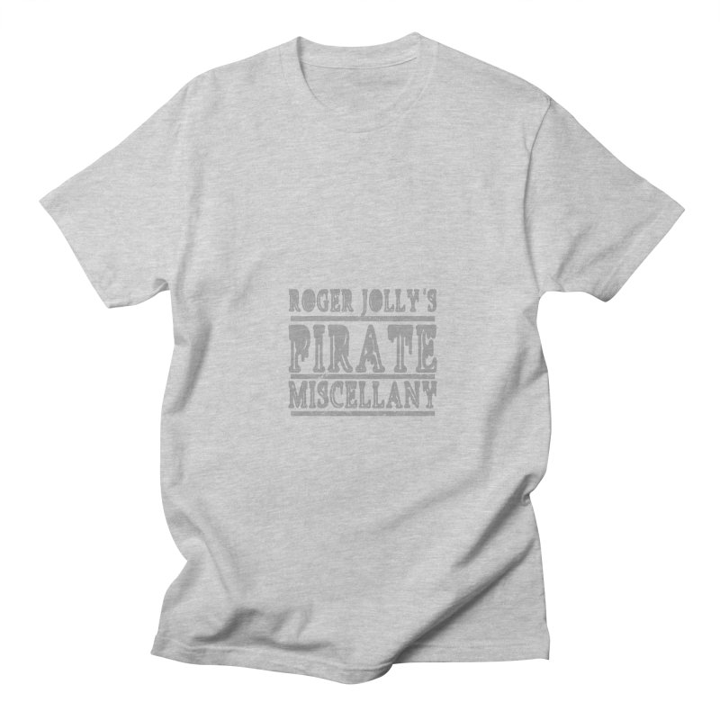 Roger Jolly's Pirate Miscellany Men's T-Shirt by Unhuman Design