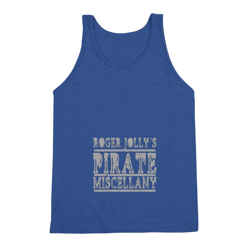 Roger Jolly's Pirate Miscellany Men's Triblend Tank by Unhuman Design