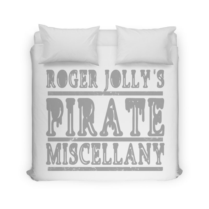 Roger Jolly's Pirate Miscellany Home Duvet by Unhuman Design