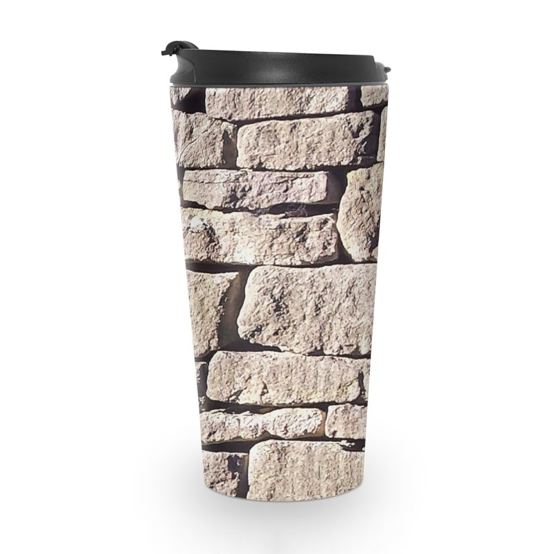 Stone Wall Accessories Travel Mug by Unhuman Design
