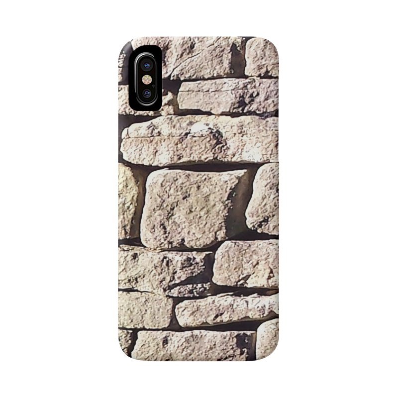 Stone Wall Accessories Phone Case by Unhuman Design