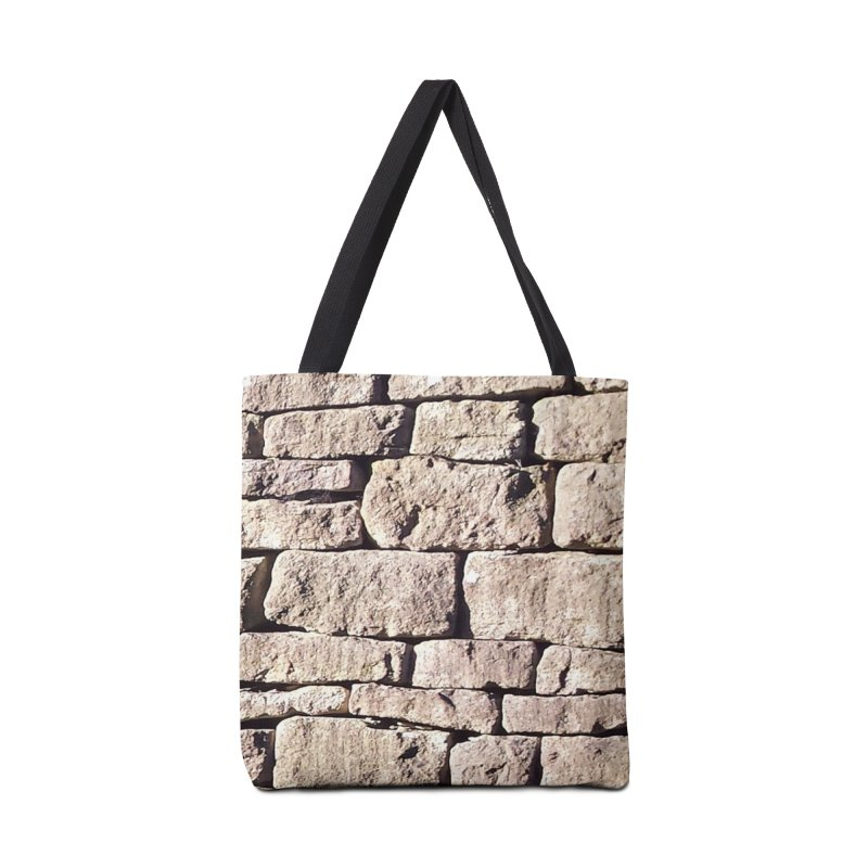 Stone Wall Accessories Bag by Unhuman Design