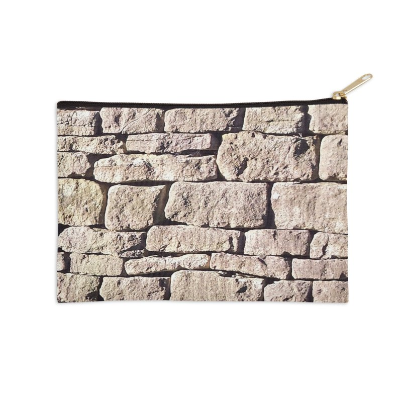 Stone Wall Accessories Zip Pouch by Unhuman Design
