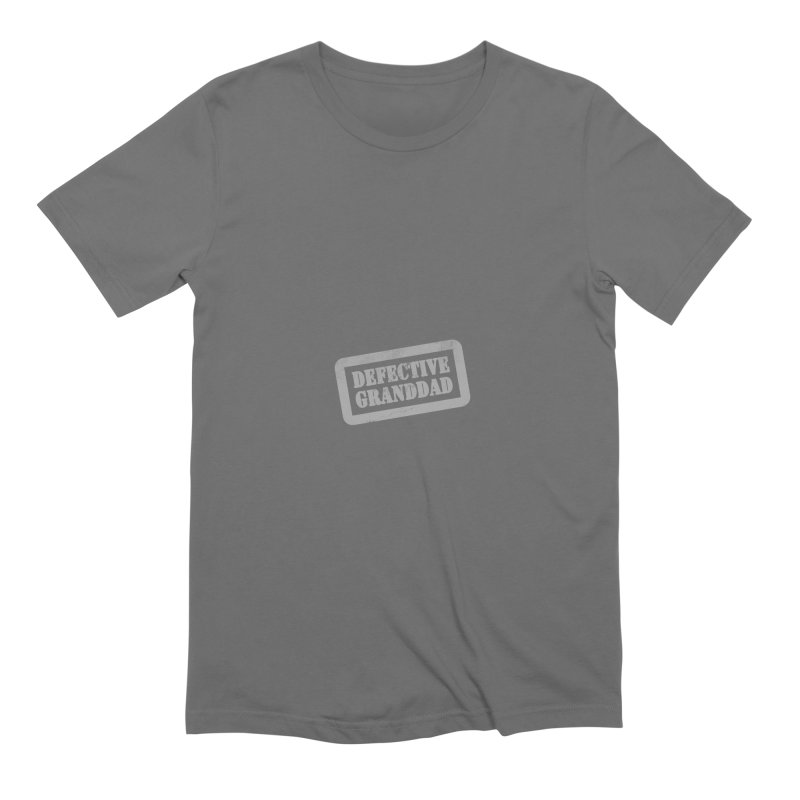 Defective Granddad Men's T-Shirt by Unhuman Design