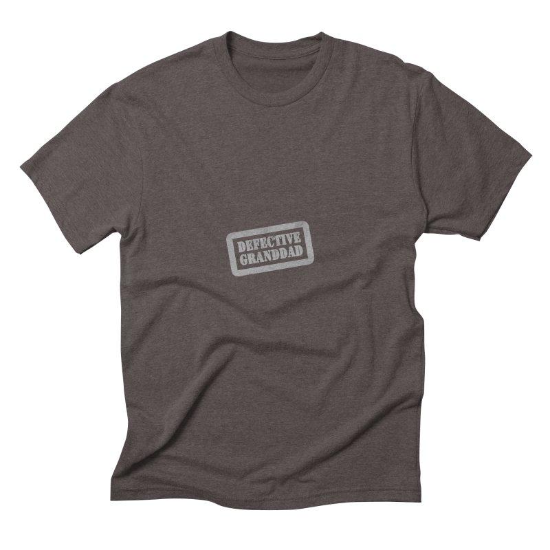 Defective Granddad Men's Triblend T-Shirt by Unhuman Design