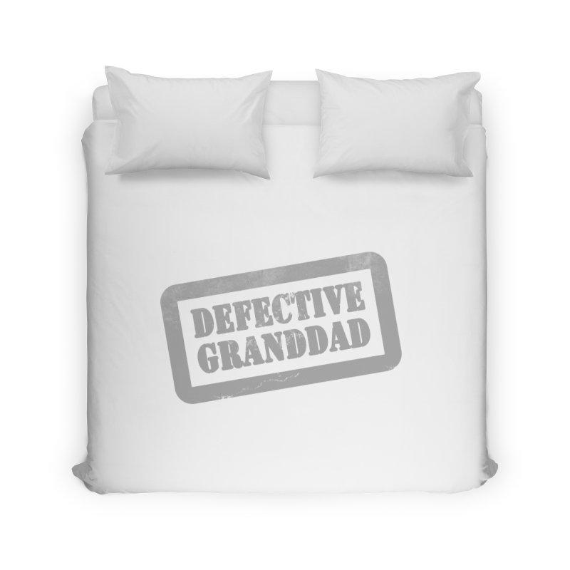Defective Granddad Home Duvet by Unhuman Design